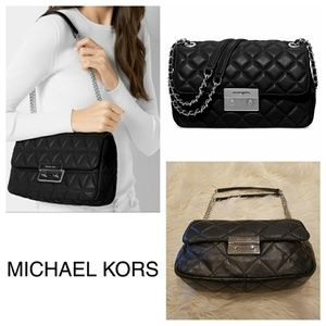 $328 MICHAEL KORS Sloan Quilted Bag